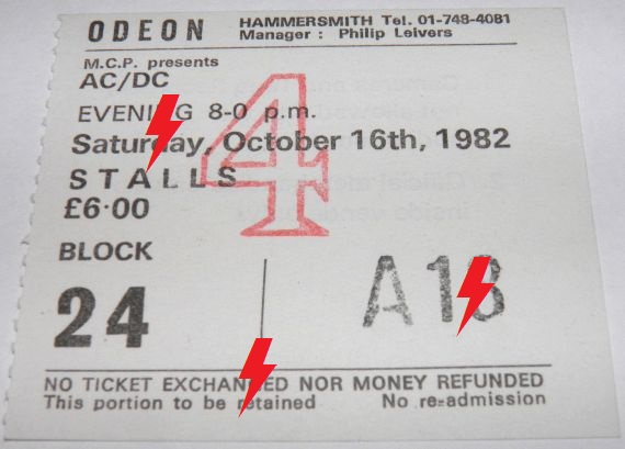 1982 / 10 / 16 - UK, London, Hammersmith Odeon 16_10_10