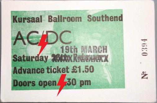1977 / 03 / 19 - UK, Southend, Kursaal ballroom 19_03_10