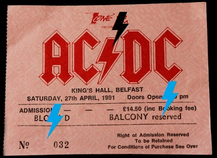 1991 / 04 / 27 - IRL, Belfast, King's Hall 221