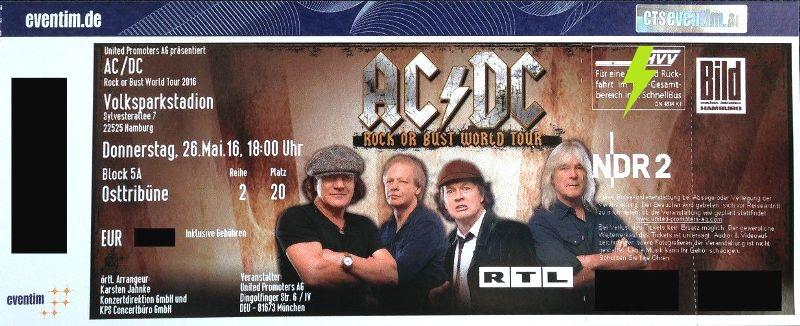 2016 / 05 / 26 - GER, Hamburg, Volksparkstadion 26_05_10