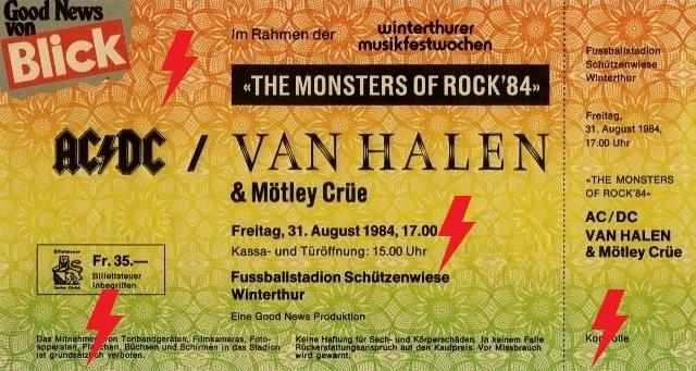 1984 / 08 / 31 - CH, Winterthur, Fussballstadion Schutzenwiese 31_08_11