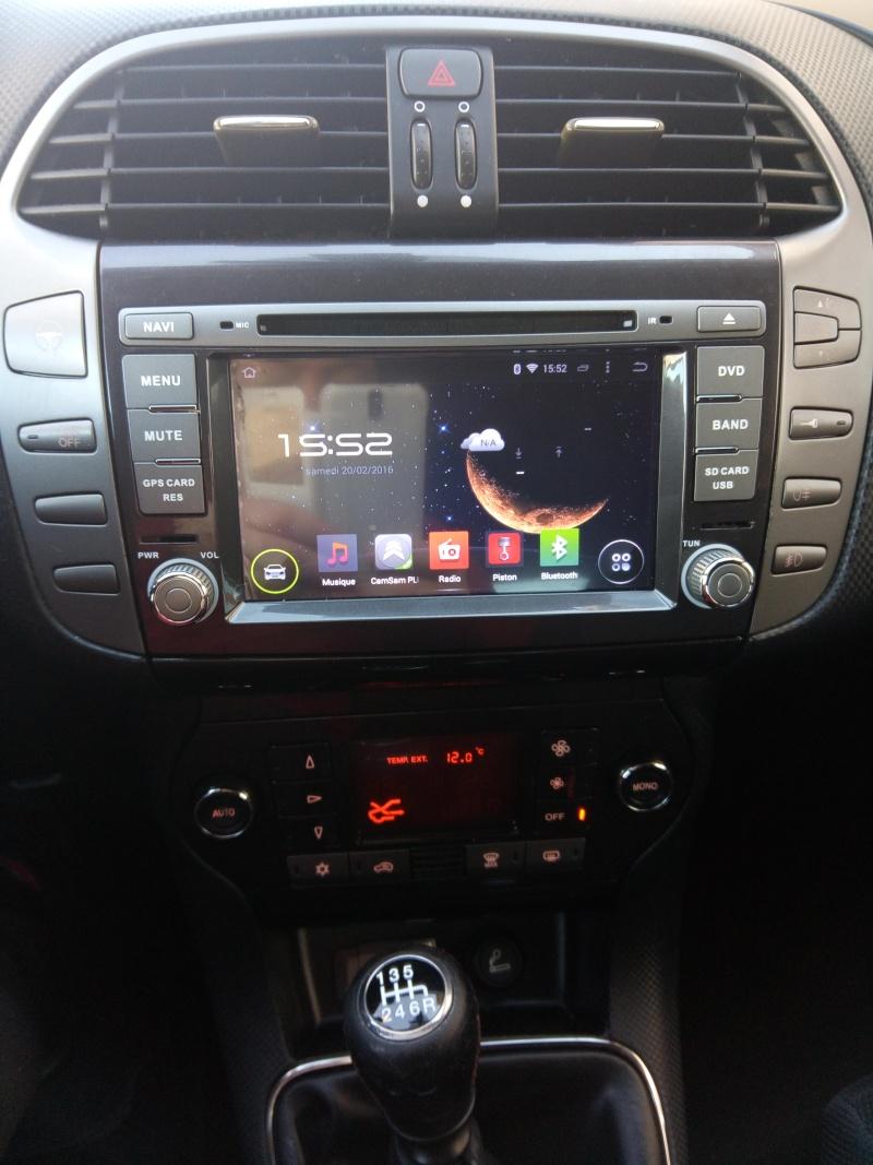 Présentation autoradio GPS Fiat_b11
