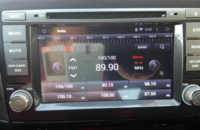 Présentation autoradio GPS Fiat_b12