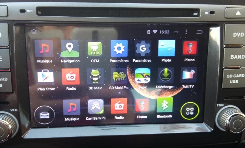 Présentation autoradio GPS Fiat_b16