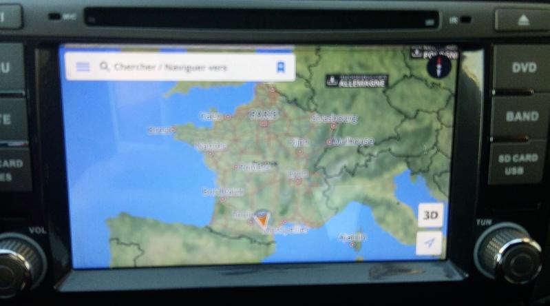 Présentation autoradio GPS Fiat_b17