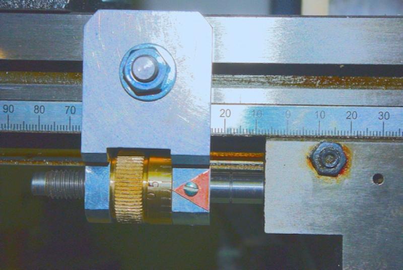 Butée micrométrique pour fraiseuse X3 Butee-11