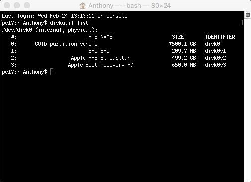 réparer l'erreur intel HD 4600 7 mo sous el Capitan Sans_t12