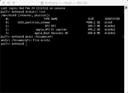 réparer l'erreur intel HD 4600 7 mo sous el Capitan Sans_t13