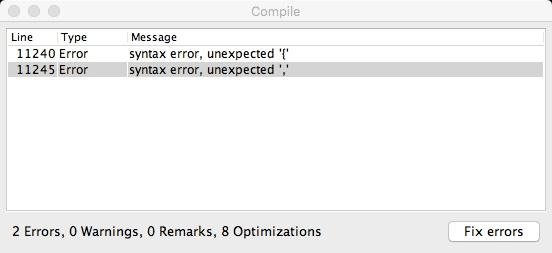 """Compilation dsdt """"error syntax ',' et '{' Sans_t17"""