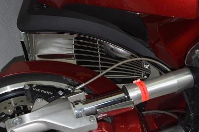 customisation chromage pièce PVC le résultat en photos Apres015