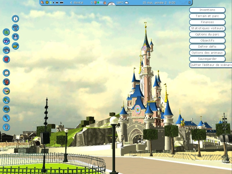 Recreation de Disneyland Paris (creation+importation) Shot0113