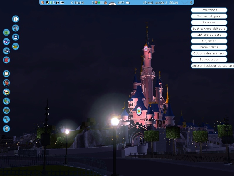 Recreation de Disneyland Paris (creation+importation) Shot0114