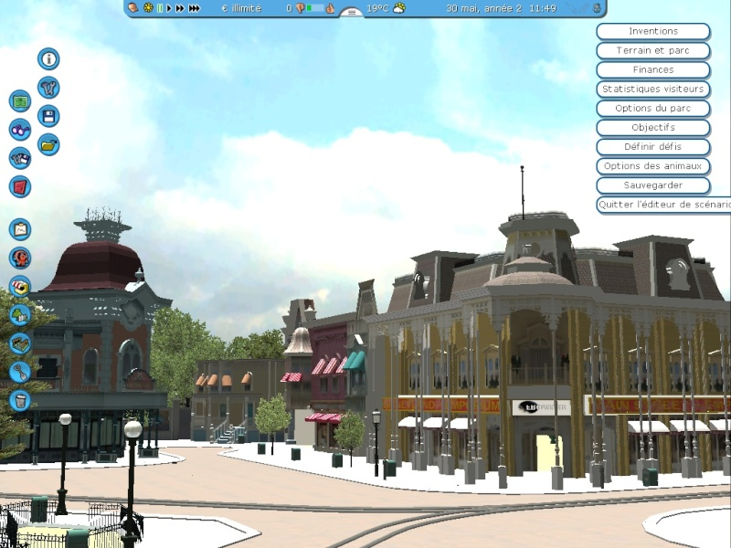 Recreation de Disneyland Paris (creation+importation) Shot0136