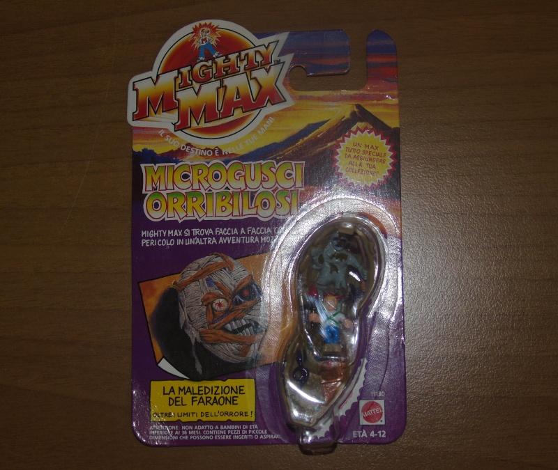 Vendo Mighty Max Microgusci Orribilosi Blister Nuovi Dsc00810