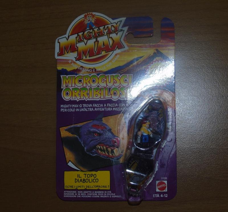 Vendo Mighty Max Microgusci Orribilosi Blister Nuovi Dsc00811