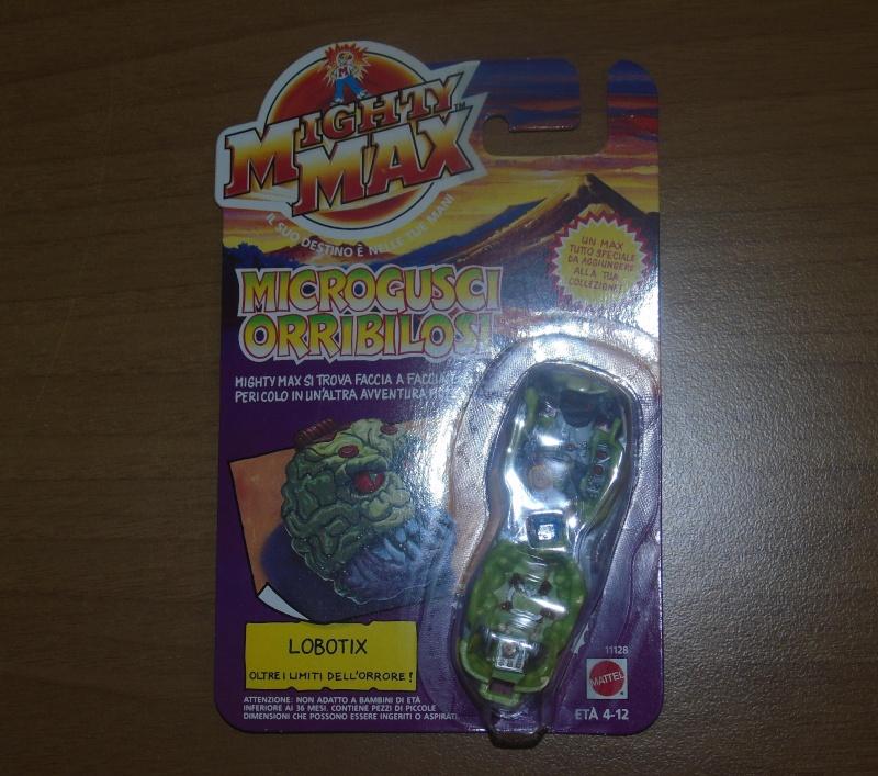 Vendo Mighty Max Microgusci Orribilosi Blister Nuovi Dsc00812