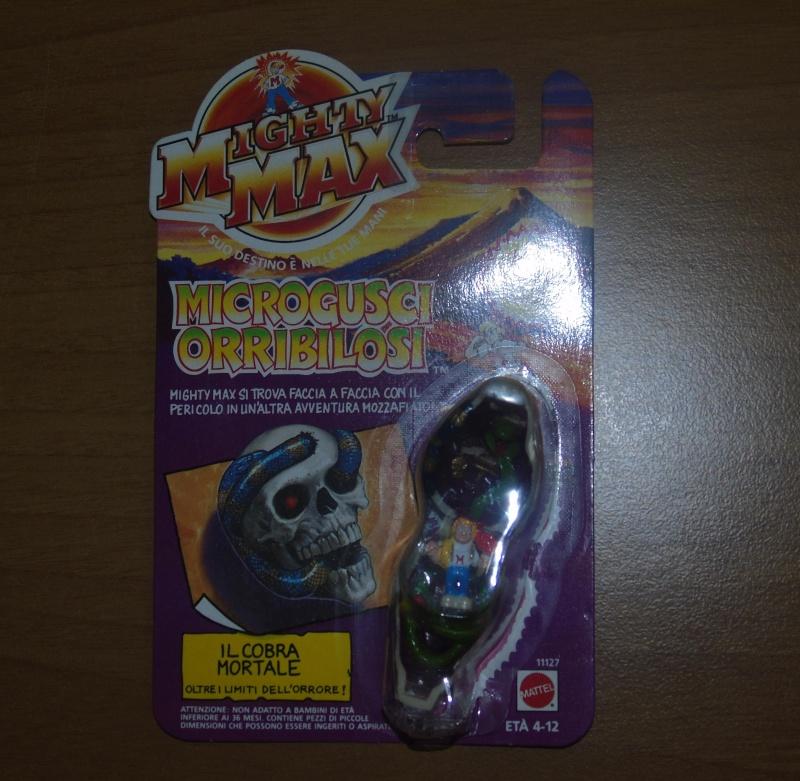 Vendo Mighty Max Microgusci Orribilosi Blister Nuovi Dsc00813