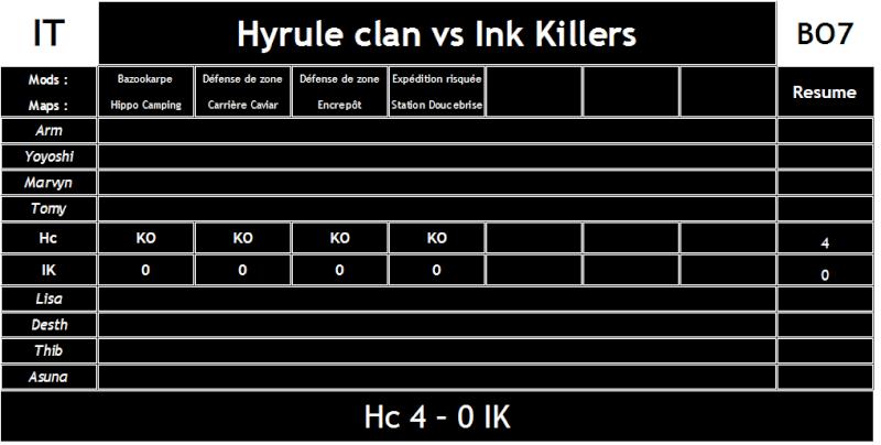 Hyrule Clan vs Ink Killers (#45) Hc_vs_11
