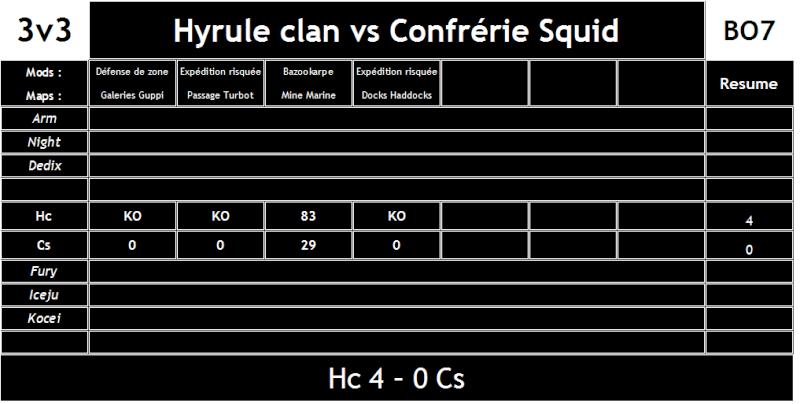 Hyrule Clan vs Confrérie Squid (#47) Hc_vs_12