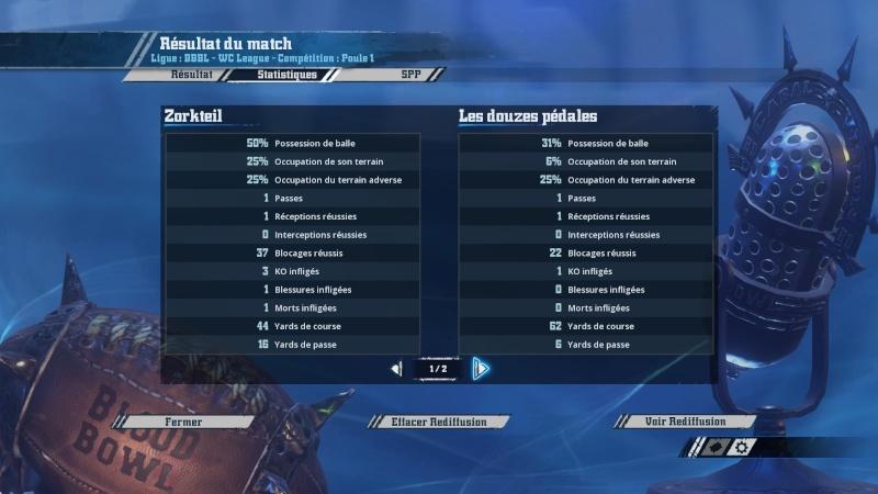 Match 3 (Wallygator) Zorteil 1-2 Les douzes pédales (Cham) 2016-011