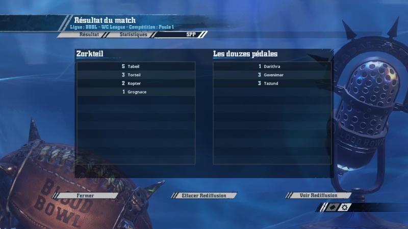 Match 3 (Wallygator) Zorteil 1-2 Les douzes pédales (Cham) 2016-013