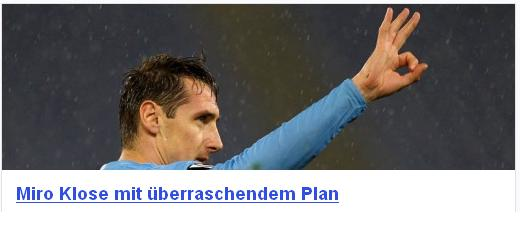 Sport  Klose11