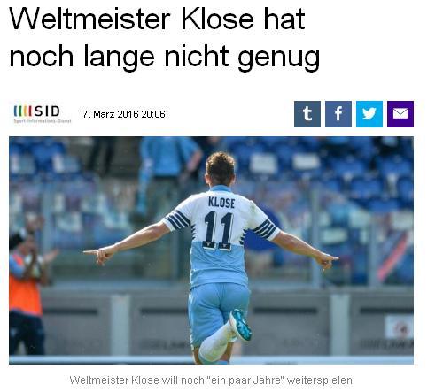 Sport  Klose210