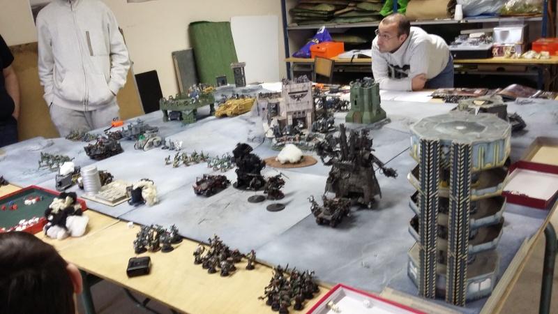 """Rapport de bataille Warhammer 40 000 du samedi 27 fevrier : scenario ORKS/SPACE WOLVES - """"Bataille pour du karbu"""" 2-le_r10"""