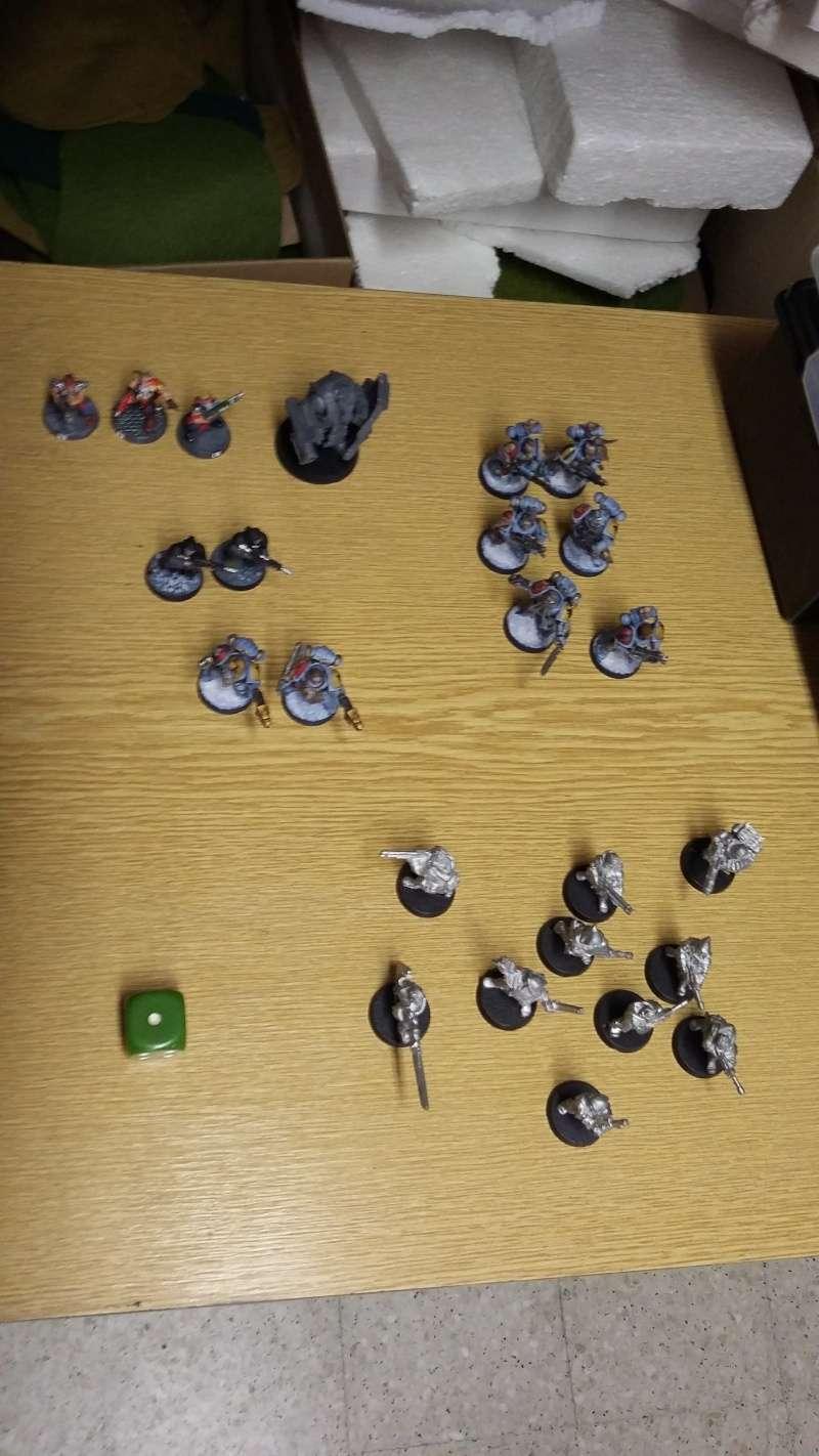 """Rapport de bataille Warhammer 40 000 du samedi 27 fevrier : scenario ORKS/SPACE WOLVES - """"Bataille pour du karbu"""" 2-pert10"""