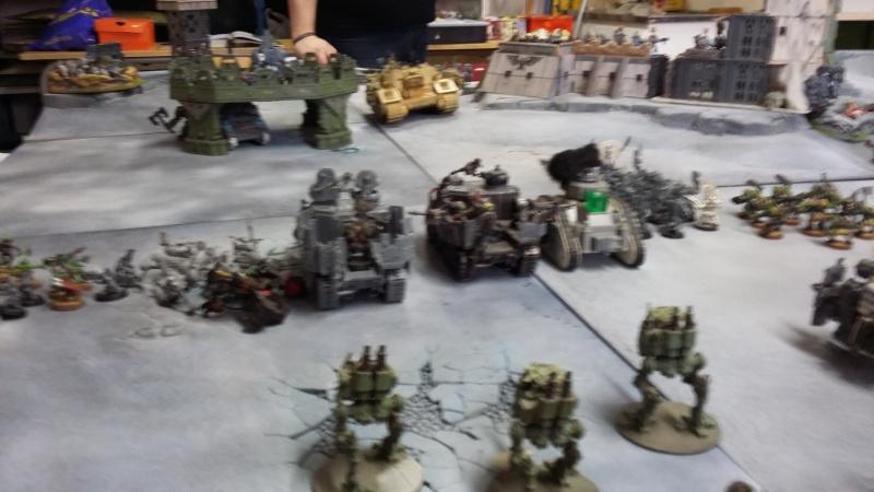 """Rapport de bataille Warhammer 40 000 du samedi 27 fevrier : scenario ORKS/SPACE WOLVES - """"Bataille pour du karbu"""" 3-les_11"""