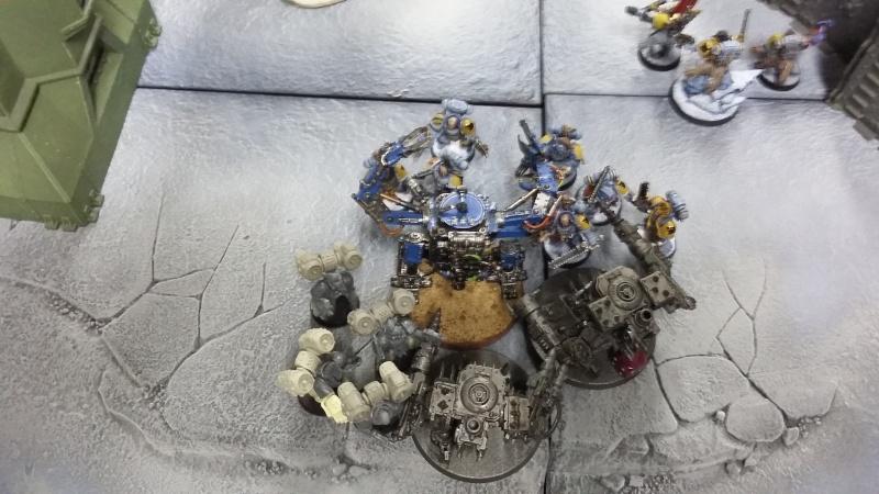 "Rapport de bataille Warhammer 40 000 du samedi 27 fevrier : scenario ORKS/SPACE WOLVES - ""Bataille pour du karbu"" 4-l_un10"