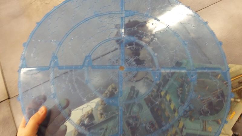 """Rapport de bataille Warhammer 40 000 du samedi 27 fevrier : scenario ORKS/SPACE WOLVES - """"Bataille pour du karbu"""" 43310"""