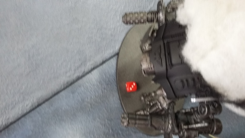 """Rapport de bataille Warhammer 40 000 du samedi 27 fevrier : scenario ORKS/SPACE WOLVES - """"Bataille pour du karbu"""" 43810"""
