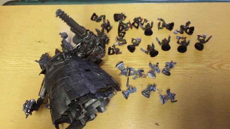 """Rapport de bataille Warhammer 40 000 du samedi 27 fevrier : scenario ORKS/SPACE WOLVES - """"Bataille pour du karbu"""" 6-le_g10"""