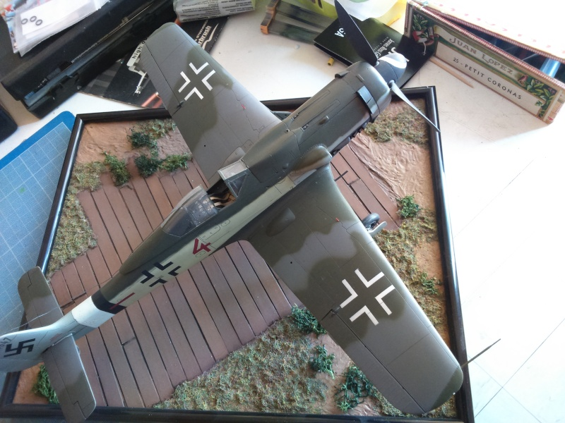 Aterrissage 190 D9 1/32 REVELL Dsc_0051