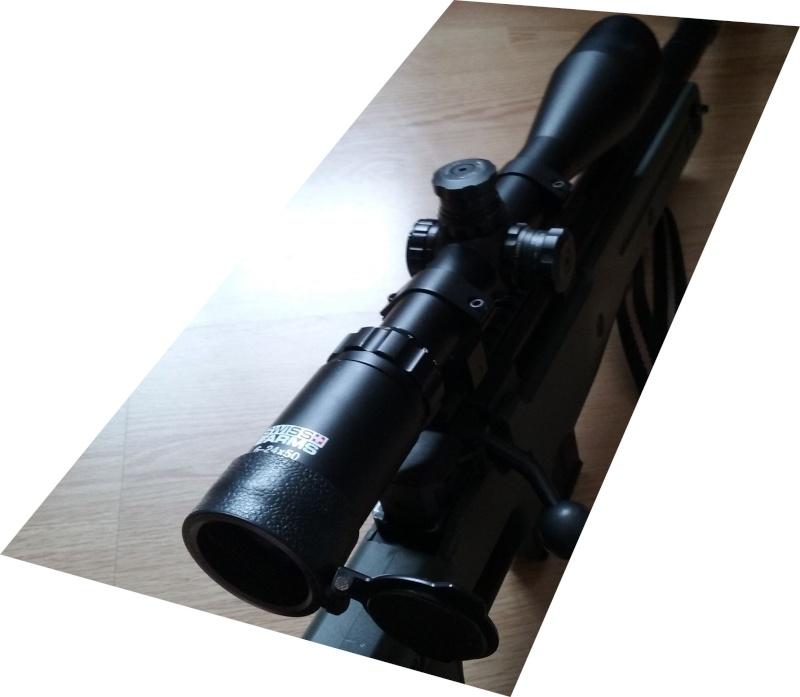Lunette de précision Swiss arms 6-24 *50 111