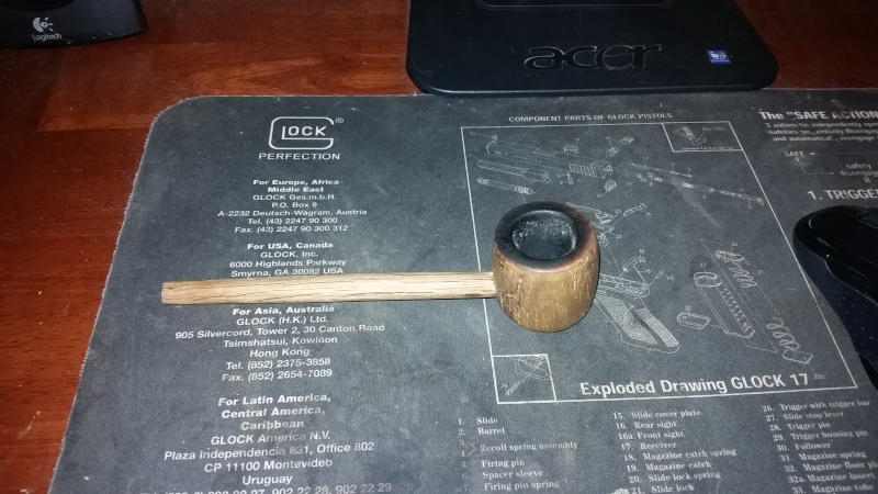 last try at showing my pipe oak pipe 14582610