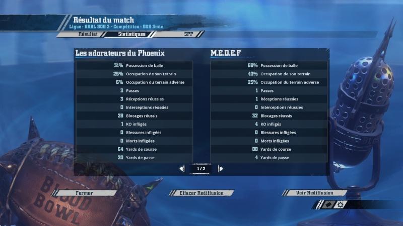 [ Lamenoire_1 ] M.E.D.E.F 2 -1 [ EwinBarbeBleu ] Les adorateurs du phoenix 20160313