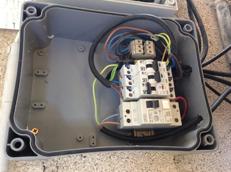 Branchement électrique PAC o'clair sur tableau Diffazur Image17