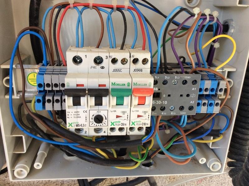 Branchement électrique PAC o'clair sur tableau Diffazur Image19