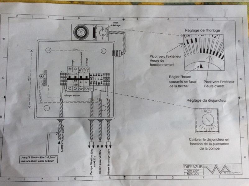 Branchement électrique PAC o'clair sur tableau Diffazur Thumb_15
