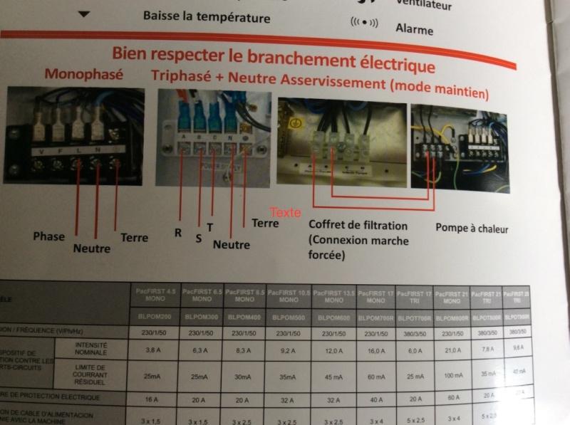 Branchement électrique PAC o'clair sur tableau Diffazur Thumb_16