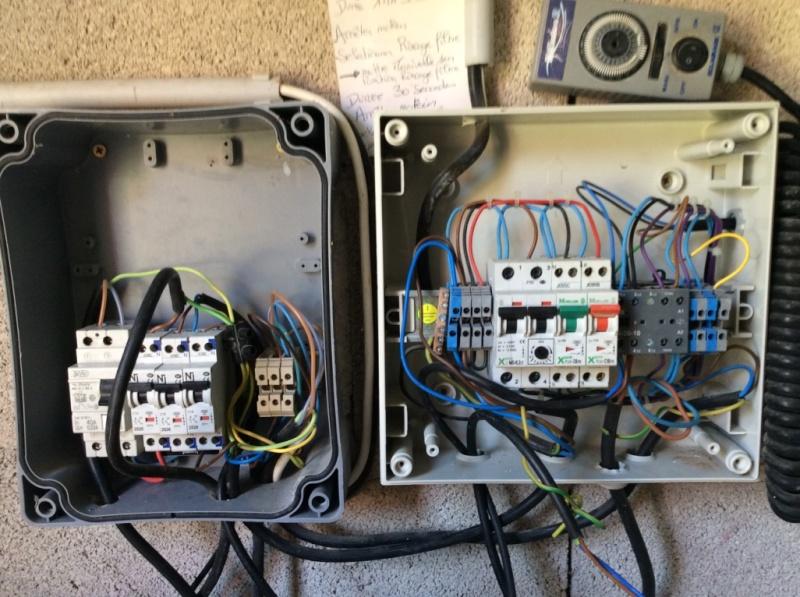 Branchement électrique PAC o'clair sur tableau Diffazur Thumb_17
