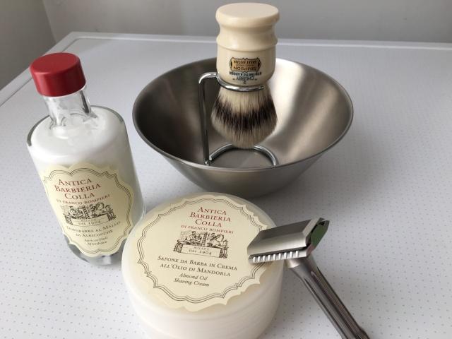 Crème à raser et lotion après-rasage ANTICA BARBIERA COLLA Img_1010