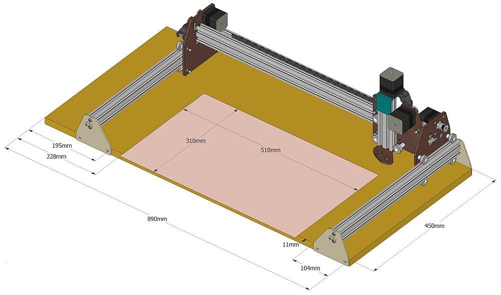 Dimensions de la FAKIR Zone-u11