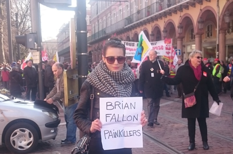 Competition Entries: Brian Fallon, London, 11 April 2016 Painki11