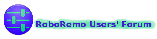 RoboRemo Users' Forum