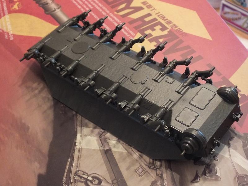 Montage Char T-10M Heavy Tank Meng 1/35 réf: TS 018 Dscf8929