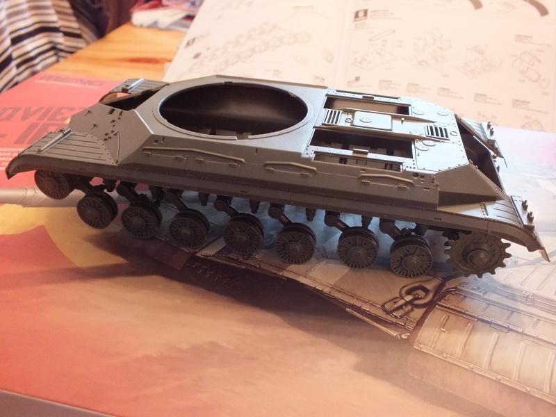 Montage Char T-10M Heavy Tank Meng 1/35 réf: TS 018 Dscf8947
