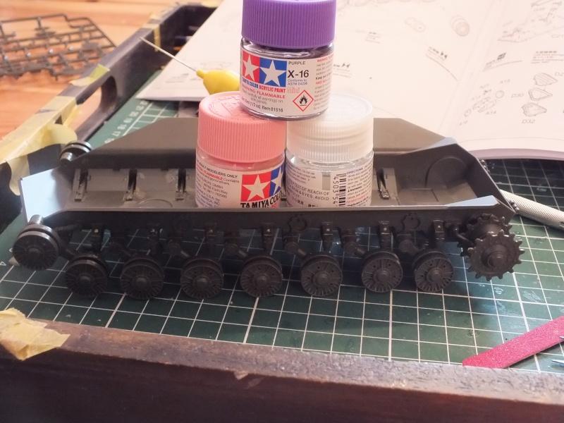 Montage Char T-10M Heavy Tank Meng 1/35 réf: TS 018 Dscf8948